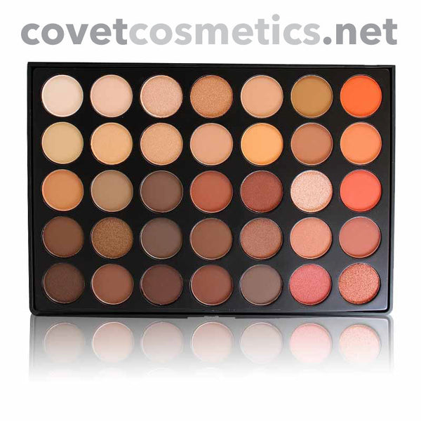 Morphe 35 Color Nature Glow Palette - 35O - Covet Cosmetics
