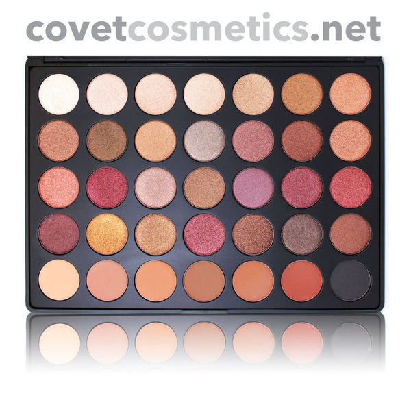 Morphe Fall into Frost Palette - 35F - Covet Cosmetics