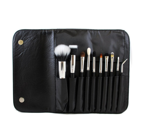 Morphe 10 Piece Deluxe Face Set with Snap Case - Covet Cosmetics