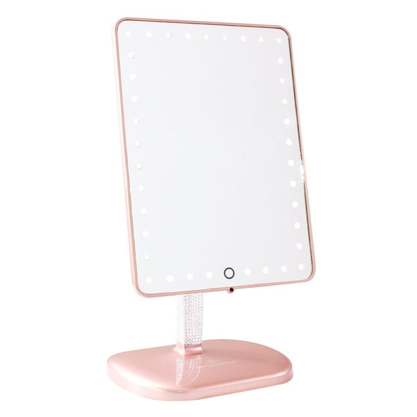BLING EDITION of Touch Pro LED Makeup Mirror with Wireless Bluetooth Audio Speakerphone from Impressions Vanity - Covet Cosmetics