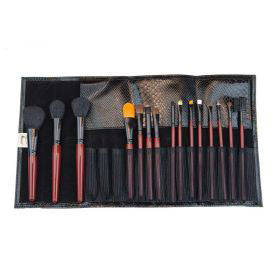 Morphe Brushes 15 Piece Pro Brush Set with Faux - Covet Cosmetics