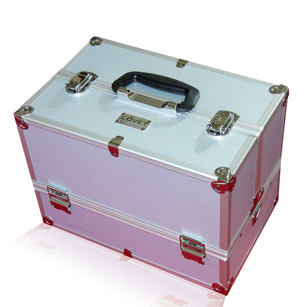 Professional Cosmetics Train Case - Covet Cosmetics