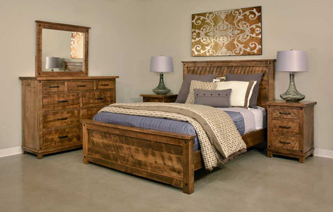 Bedroom Sets - Furniture Crafted in Berlin, Ohio | Industrial Craftsman