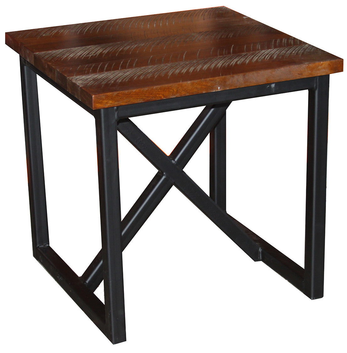 Boat Wood End Table