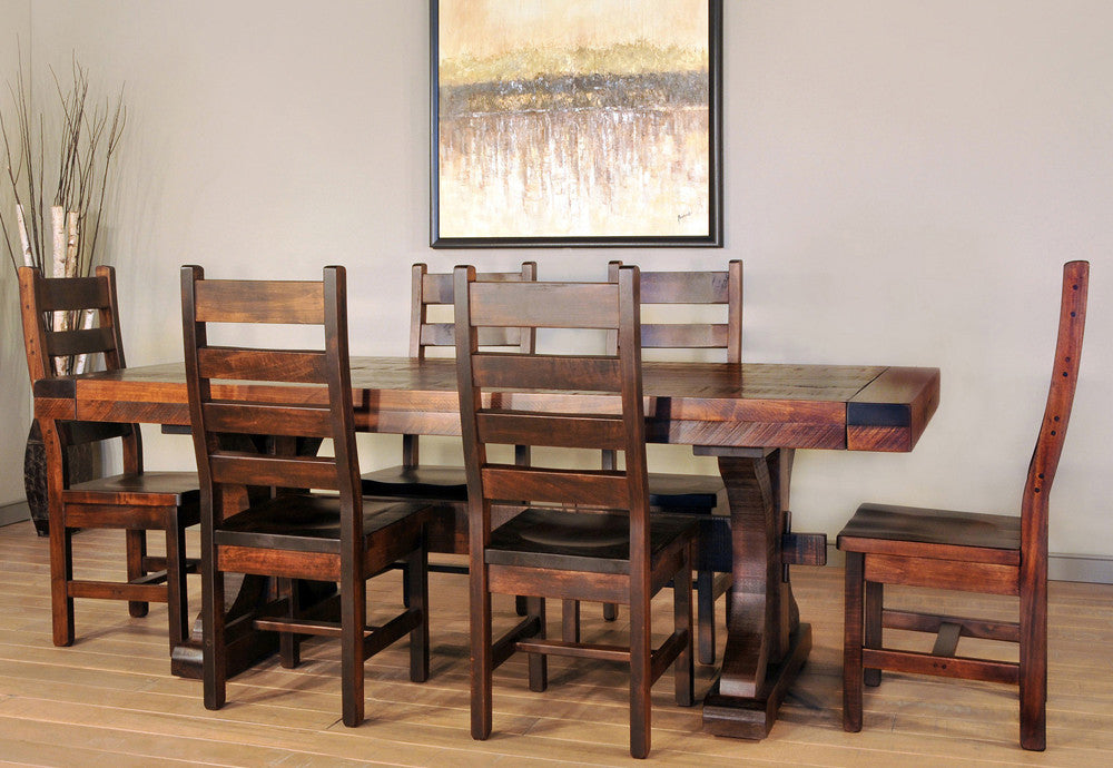 Dining Room Sets - Rustic Handcrafted Furniture | Industrial Craftsman