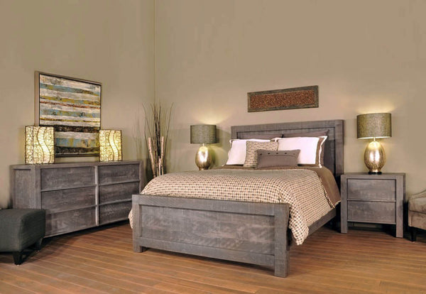 Sequoia Bedroom Suite Industrial Craftsman