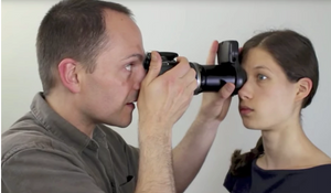 How to take an iris photography