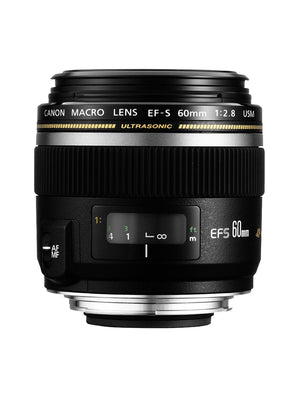 CANON EF-S60mm f/2.8 Macro USM Lens - Refurbished