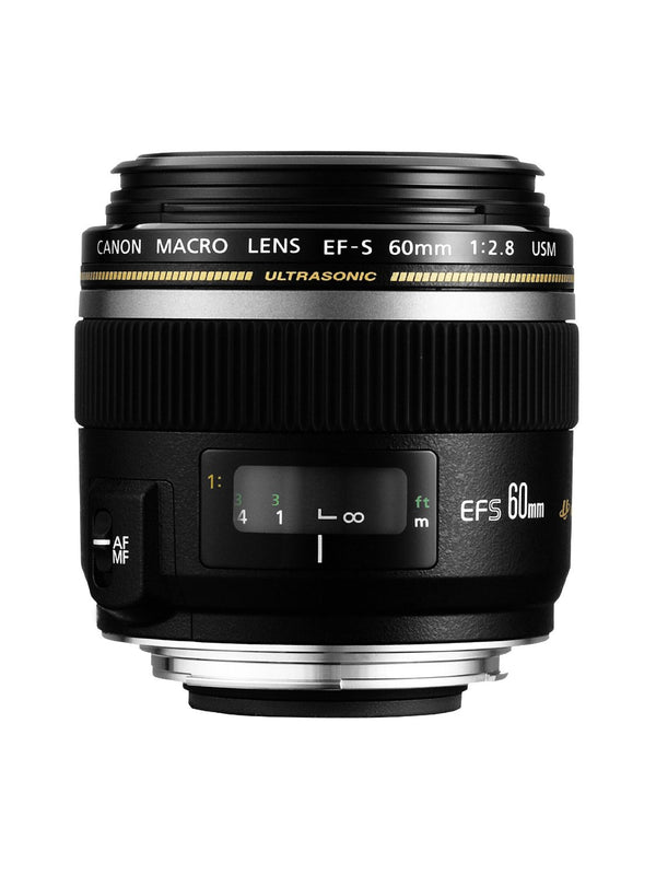 CANON EF-S60mm f/2.8 Macro USM Lens - NEW