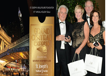 Marek Hewyrk were Sponsors of the 16th Annual St. Joesph's Healthcare Foundation Annual Holiday GALA at the Grand Central Express