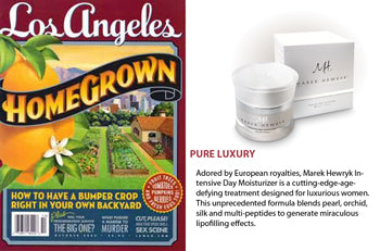 Marek Hewryk's Product Feature in Los Angeles Magazine - January 2010