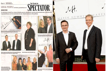 The Hamilton Spectator Event Feature with Marek Hewryk and Andrzej Lappo - September 2009