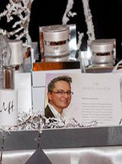 Collection of Marek Hewryk products at the 15th Annual St. Joesph Healthcare Foundation Holiday GALA