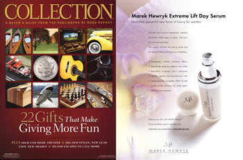 Marek Hewryk's Product Feature in Robb Report Collection Magazine - December 2010