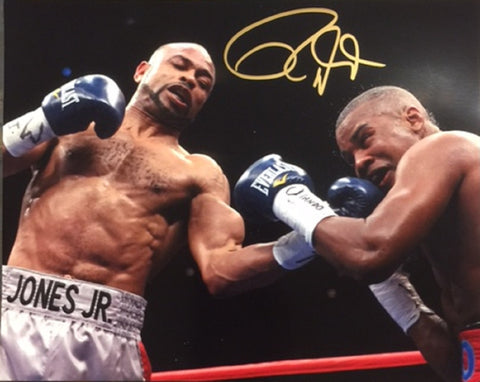 Roy Jones Jr. Signed Photograph