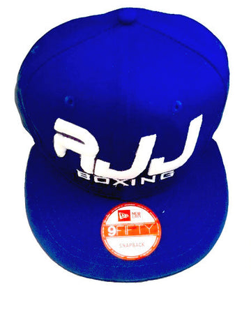 Hat RJJ Blue  (White)