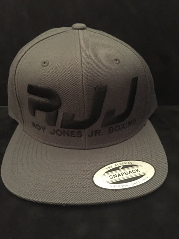 Hat RJJ Grey (Black)