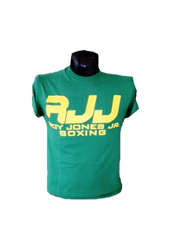 RJJ Green T-Shirt with Yellow Logo