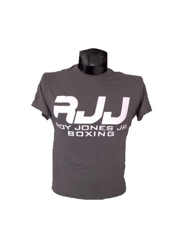 RJJ Gray T-Shirt with White logo