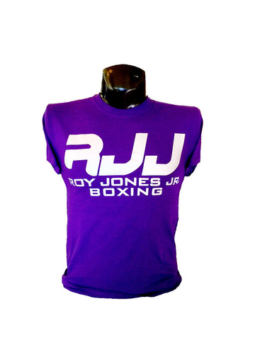 RJJ Purple T-Shirt with Silver Logo