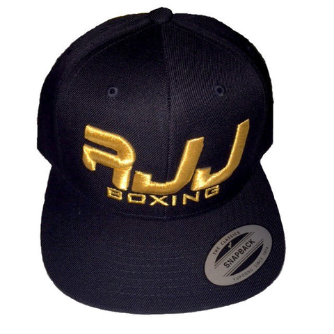 Hat RJJ Black (Gold)