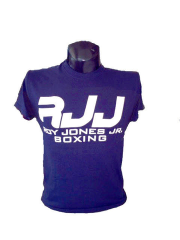 RJJ Navy Blue T-Shirt with White Logo