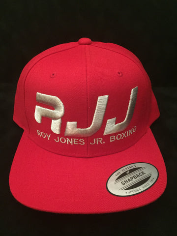 Hat RJJ Red (Silver)