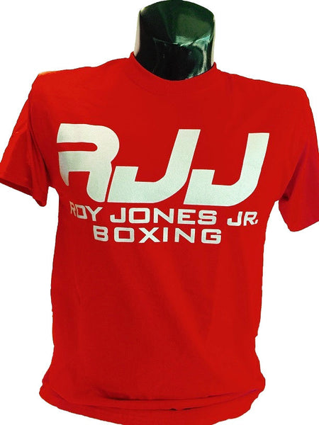 RJJ Red T-Shirt with Silver Logo