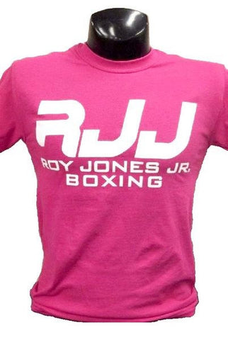 RJJ Pink T-Shirt with White Logo