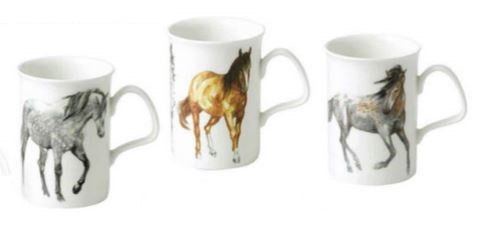 Kirkham ER2174 My Horse Lancaster Mug - Set of 6