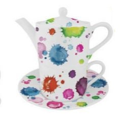 Kirkham ER30140 Splash Tea For One - 3pc Set