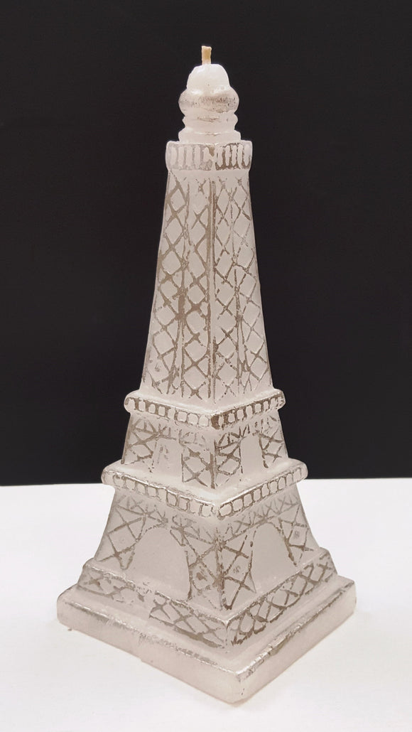 Wick'd Wax Eiffel Tower Candle - Unscented