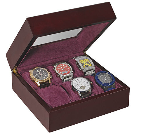 Alpine WD-106 Deluxe 6-Watch Box
