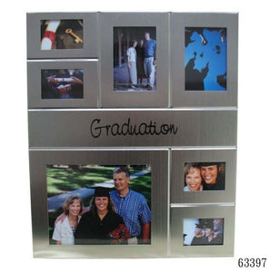 Elegance 63397 Graduation 7-Window Graduation Collage Frame