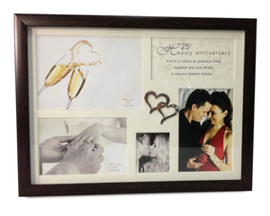 Elegance 64854/6/7 Anniversary Collage Frame - Multiple Years Avaliable