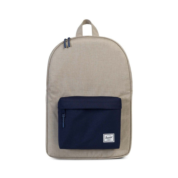Herschel Classic Backpack Light Khaki Crosshatch