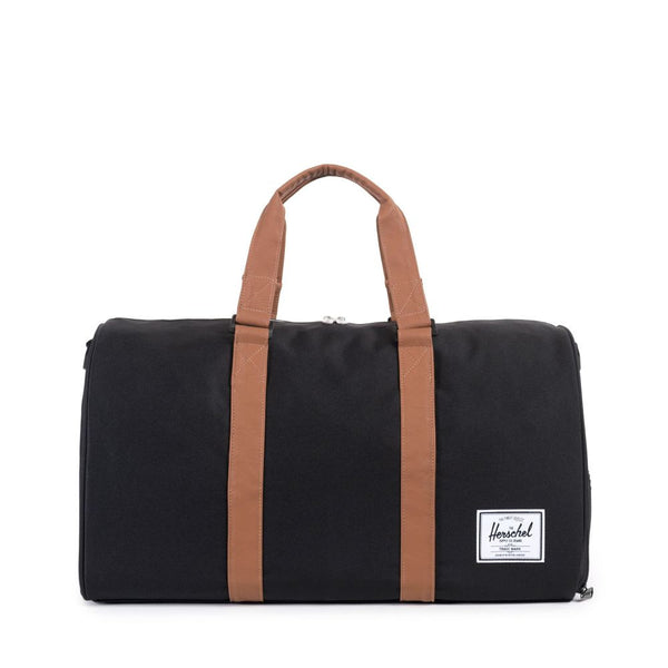 Herschel Novel Black and Brown Travel Bag