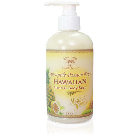 Island Soap - Liquid Hand Soap 8 oz.