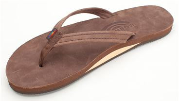 Rainbow Single Layer Premium Leather (Narrow) - Women's