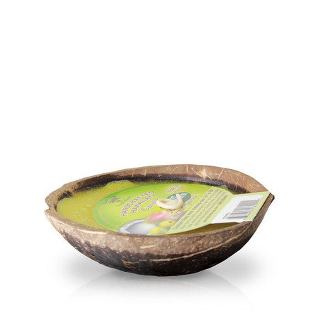 Island Soap & Candles Candle - Floating Candle Coconut Shell