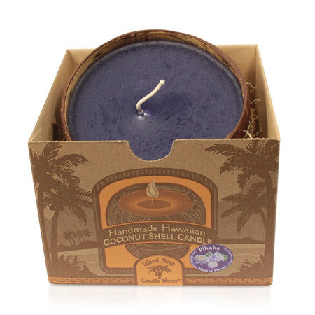 Island Soap & Candles Candle - Coconut Shell Box