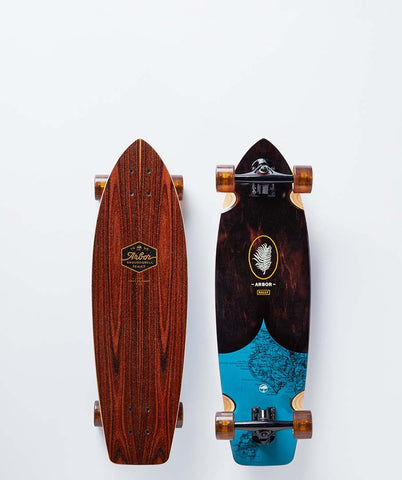 "Arbor Rally 31"" Groundswell Skateboard"