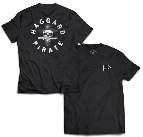 HAGGARD PIRATE - BRANDED TEE