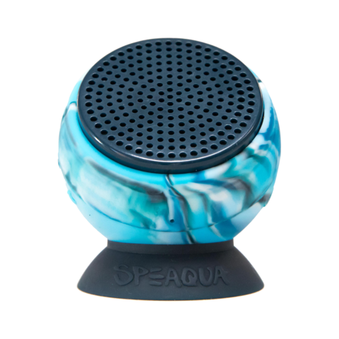 Speaqua - The Barnacle+ | Pro Model Balaram Stack | Tidal Blue 4G The Barnacle | Aloha Blue Waterproof Speaker