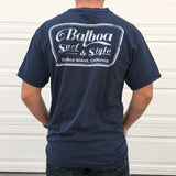 Balboa Surf and Style Shop Logo Tee (Navy)