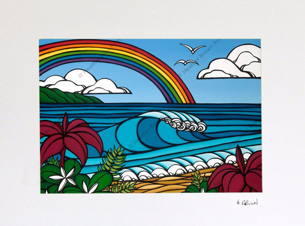 North Shore Rainbow 8x10