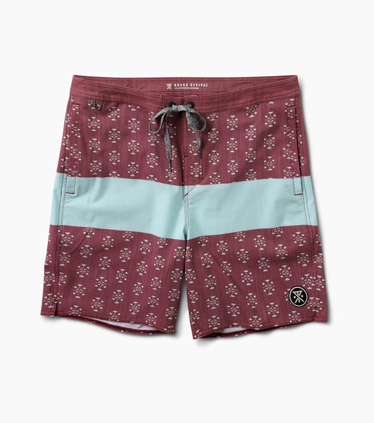 Roark Chiller Blue Stripe Men's Boardshorts