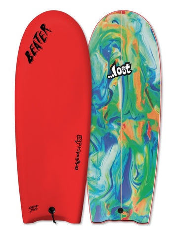 "Catch Surf Lost Orignal 54"" Surfboard Red"