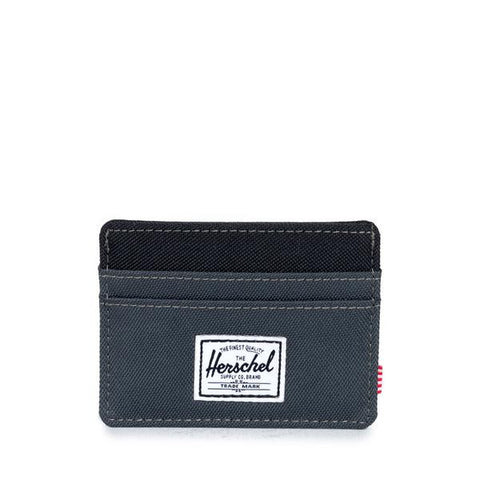 Herschel Charlie Wallet Dark Shadow/Black