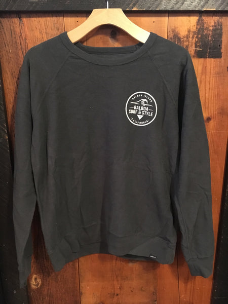 Balboa Surf & Style Pull Over Crew Sweater